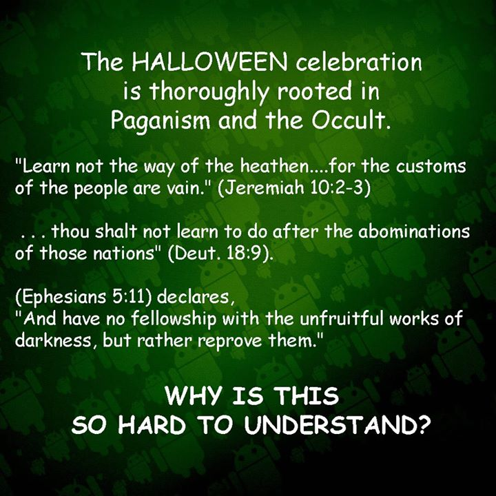 should christians be celebrating halloween looking at halloween from the bibles perspective